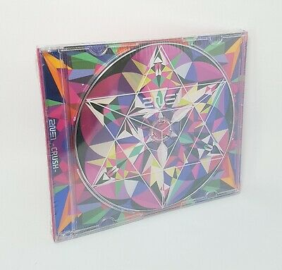 K-POP 2NE1 NEW ALBUM - [CRUSH] Pink Ver. CD + Photobook Sealed
