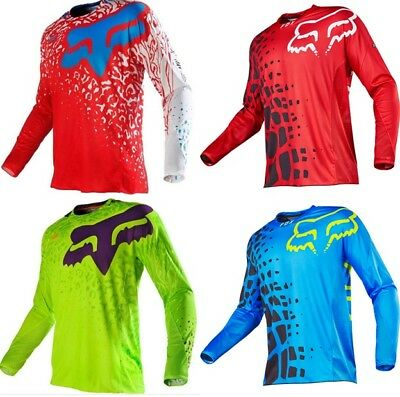 NEW Motocross Jersey Extreme Sports Off Road Clothing Quick Dry FOX