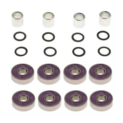 Skateboard Bearings ,Spacers and Washers for Longboards, Scooters,Inline Skate