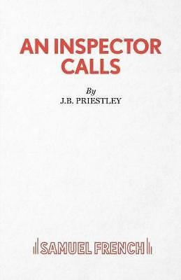 An Inspector Calls: A Play (Acting Edition), Priestley, J. B., Good Condition Bo