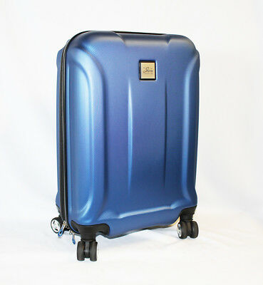 """Skyway Nimbus Gray 20"""" Hardside Resistant 360 Spinner Carry-On Suitcase Luggage"""