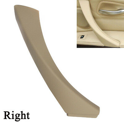 For BMW E90 3-Series Sedan Right Inner Door Panel Handle Outer Trim Cover Beige