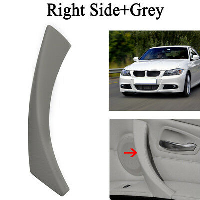 1x For BMW E90 3-Series 2004-2012 Right Inner Door Panel Handle Pull Trim Cover