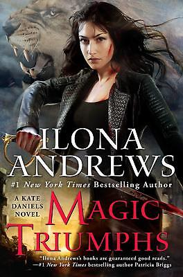 Kate Daniels: Magic Triumphs 10 by Ilona Andrews Digital E book Kindle Nook