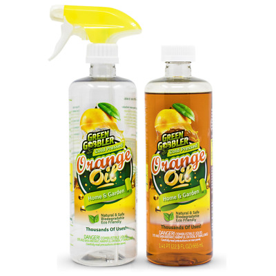 GREEN GOBBLER COLD PRESSED ORANGE OIL KIT | Natural | Home and Garden | Cleaning