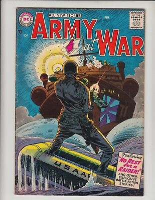 Our Army At War #55 Vg+