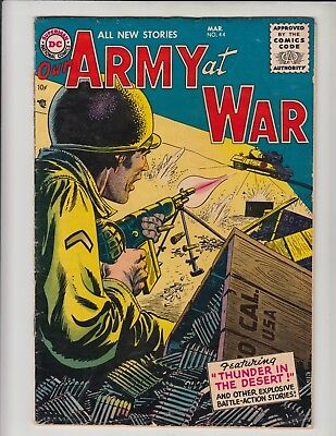 Our Army At War #44 Vg-