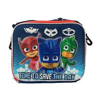 Disney PJ Masks Kids School Licensed NEW Lunch Box