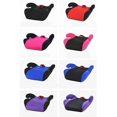 Children Cushion Pad Car Booster Seat Sturdy Toddler Safety Seats Portable Y8I3V