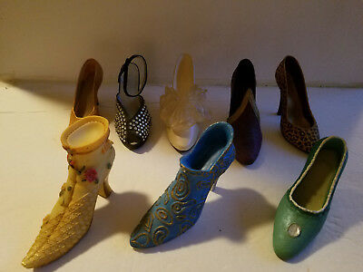 Lot of  8 Just The Right Shoe and Others 25004 25003 25017 25008 25045