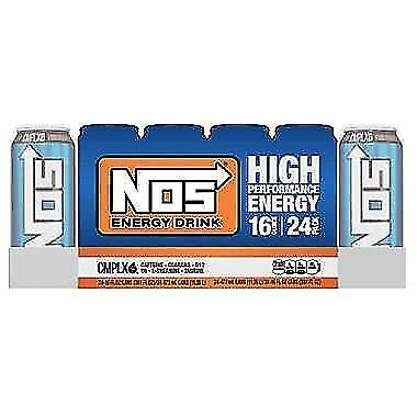 NOS High Performance Energy Drink (16 oz. cans, 24 pk.)