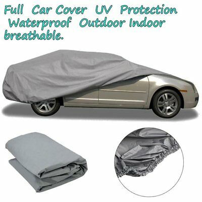 Full Car Cover UV Protection Waterproof Outdoor Breathable Small Size S 0