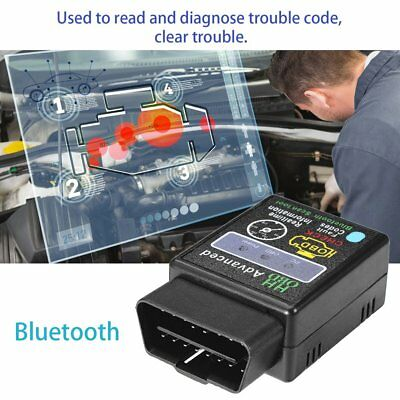 OBD2 Car Scanner Code Reader Bluetooth CAN Scan Tool for Torque Android ELM327 E