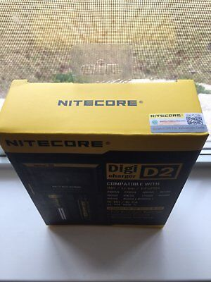 NEW 2016 NITECORE D2 Digi charger For AA 18650 14500 18350 10400