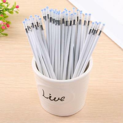 White Color Shell Gel Pen Refills 0.5mm Black Ink Office Stationery Supplies