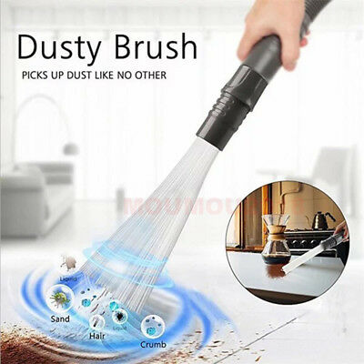 Multifunction Dusty Vacuum Cleaner Household Straw Tubes Dust Brush Dirt Remover