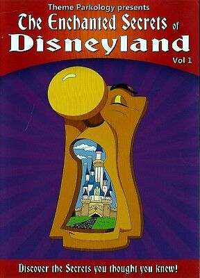 DISNEYLAND THE ENCHANTED SECRETS DVD VOL.1 With INTERVIEWS of 4 DISNEY LEDGENDS