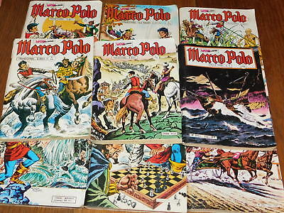LOT 9 MINI format BD MON JOURNAL marco polo MLP