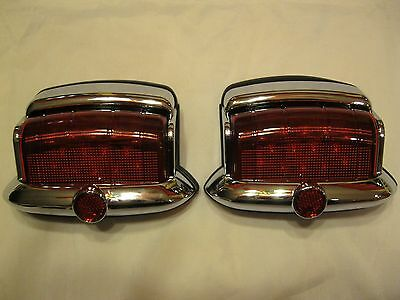 6 volt positive + ground vintage style 1946,1947,1948 plymouth led tail  lights