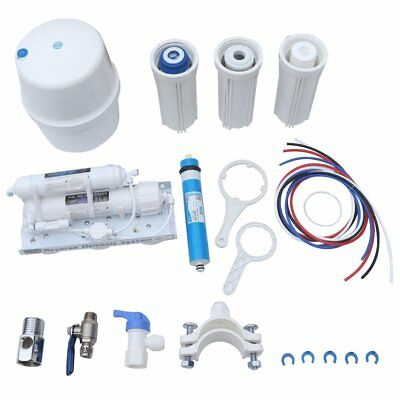 5 Stages Commercial High Flow Reverse Osmosis Water Filter System RO + Garden AU