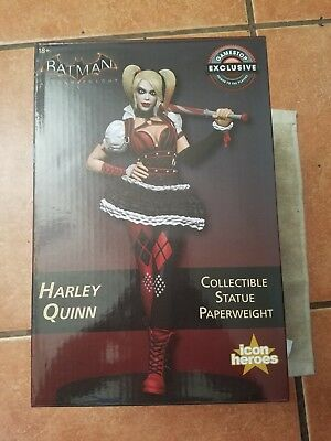 DC Comics HARLEY QUINN Collectible Statue Paperweight 1376/5000 Icon Heroes