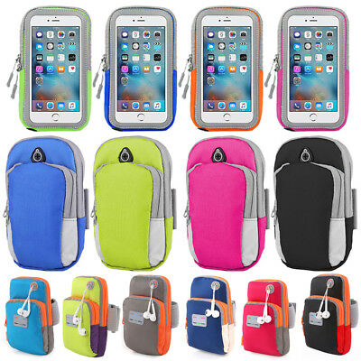 Outdoor Sport Running Gym Armband Arm Band Strap Bag For iPhone 6 6S 7 8 Plus KU