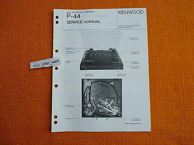 SCHALTPLAN SERVICE MANUAL Kenwood KAC1023 Autoverstärker Car Power ...