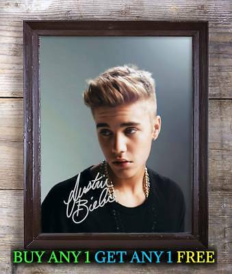 Justin Bieber Purpose Autographed Signed Reprint 8x10 Photo #18