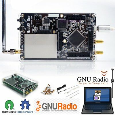 hackrf one 1mhz to 6ghz software defined radio platform development