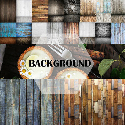 3/5/7ft Studio Photo Photography Backdrop Wood Wall Floor Background Food Party