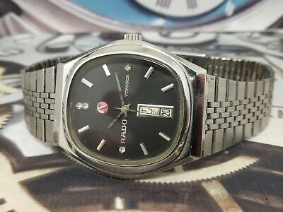 Rado Voyager Vintage 1970s Stainless Unisex Automatic Swiss Watch EX4
