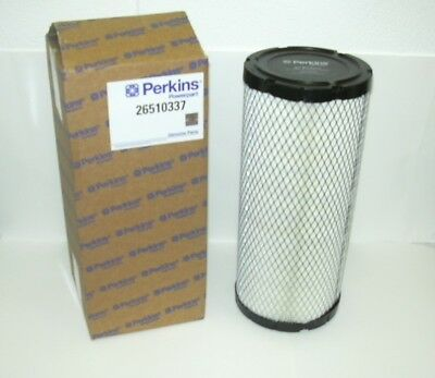 26510337 Genuine Perkins air filter   £ 26.99 FREE DELIVERY VAT INCLUSIVE