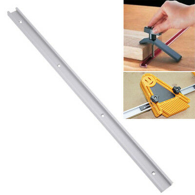 1 X 600mm T-track T-slot Miter Track Jig Fixture Woodworking Tool Router Table
