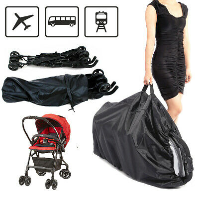 Pram Stroller Pushchair Gate Travel Bag Cover For Umbrella Buggy Carrying Cover
