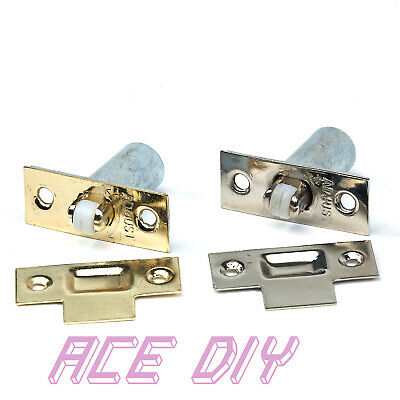 Adjustable Door Roller Catch Mortice Lock | Spring Loaded Ball Latch Locks