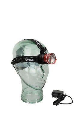 Imax Sandman Rechargeable Headlamp Sea Beach Boat Fishing Coarse Night Match Cod