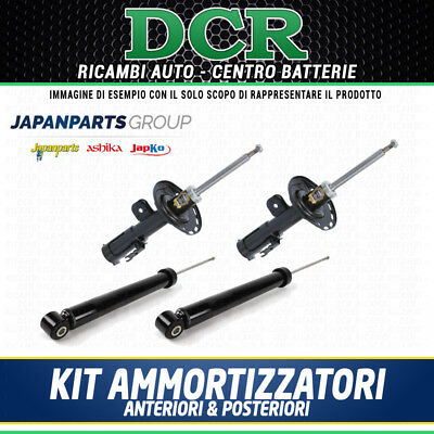 Kit Ammortizzatori Ant e Post JAPANPARTS MM-00597 MM-00598 MM-00103 BMW X3 (E83)