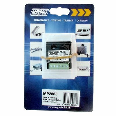 Maypole MP2883, Automatic Dual Charge Relay - 30A