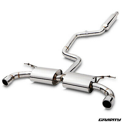 Stainless Cat Back Race Exhaust System For Vw Volkswagen Golf Mk7 5G Gti 2.0 Tsi
