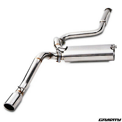 Stainless Cat Back Exhaust System For Vauxhall Astra J Mk6 Gtc 1.6 Turbo Sri 09+