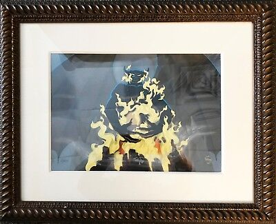 "Fantasia Rare Sold out ""Chernabog"" Hand Painted Limited Edition 87/275"