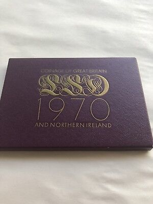1970 Proff Set Coinage Of Great Britain And Northern Ireland