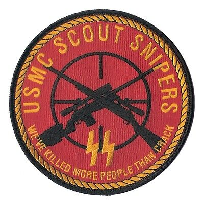 USMC Scout Sniper Patch - Marine Corps Infantry and Reconnaissance - Corps Scout