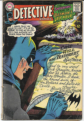 1967 Detective Comics #366 GD DC Comics FREE BAG/BOARD