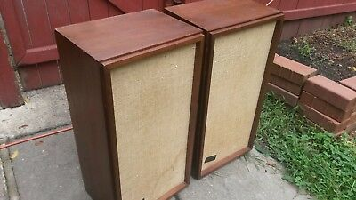 Vintage KLH-MODEL Seventeen 17 SPEAKERS Loudspeaker Fully Tested