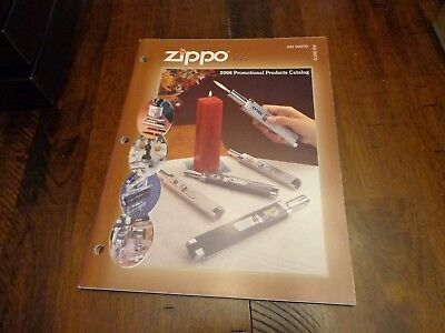 Full Size Promotional Products Zippo Lighter Catalog 2006 Unused