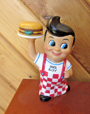 Big Boy Bank With Hamburger Funko 1999 With Stopper Big Boy Restaurant
