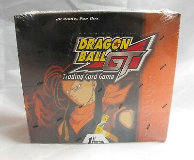 1St Edition Dragon Ball Z Gt Tcg Sealed Super 17 Saga Booster Box 2004 Score