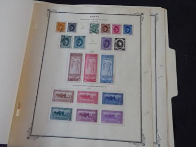 Egypt 1923-1927 Mint/Used Stamp Collection on Scott Specialty Album Pages