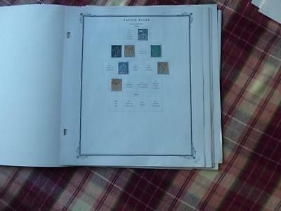 French Sudan 1894-1941 Stamp Collection on Scott Specialty Album Pages